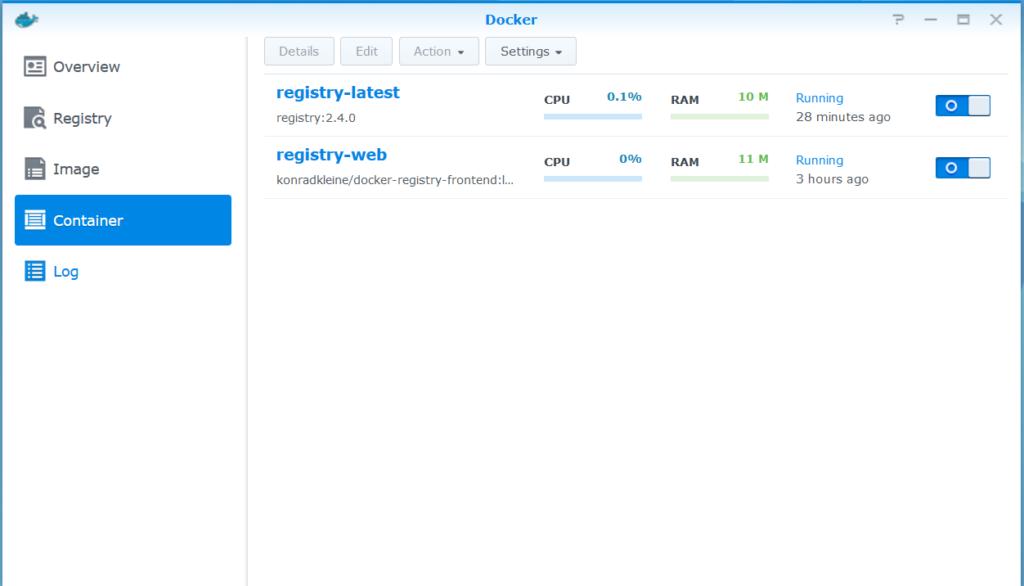 Host Docker Registry in Synology, The Working Way   Naraeon