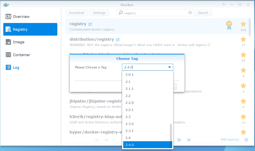 Host Docker Registry in Synology, The Working Way | Naraeon